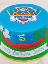 TV 04 Paw Patrol Birthday Cake