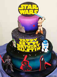 Movies 11 Star Wars Cartoons Birthday Cake