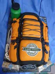 Hobbies 36 Hiker's Backpack Birthday Cake