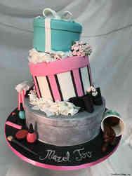 Princesses 33 Shopping Diva Birthday Cake