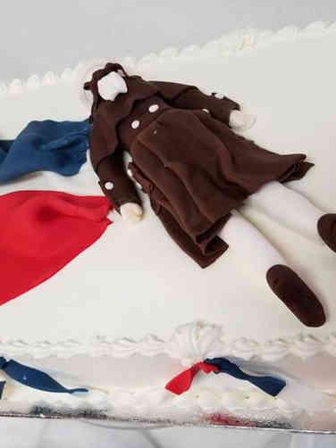 Other 09 Dead Robespierre Bastille Day Celebration Cake