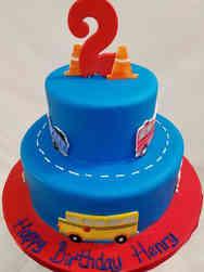 Unique 27 Cars and Trucks Birthday Cake