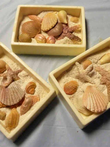 Sweets 07 Seashell Chocolate Boxes