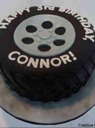 Unique 49 Tire Birthday Cake