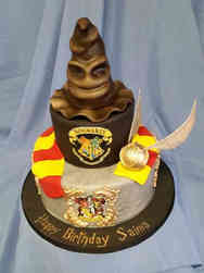 Movies 09 Harry Potter Birthday Cake