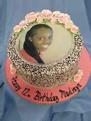Unique 31 Animal Print Photo Frame Birthday Cake