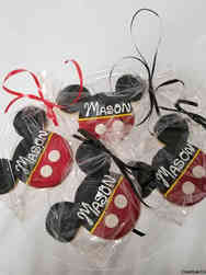 Cookies 05 Mickey Mouse Birthday Cookies