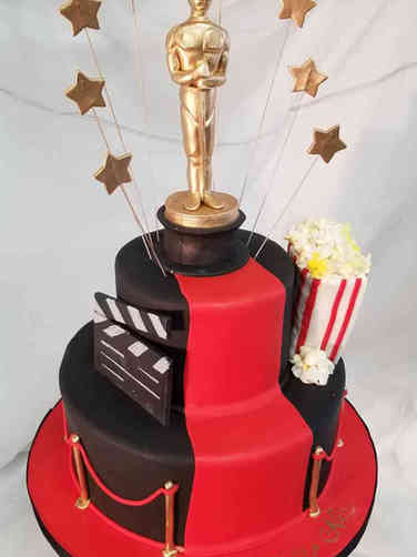 Pop 47 Academy Awards Birthday Cake