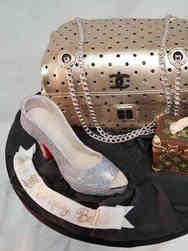 Fashion 31 Bags and Shoe Birthday Cake