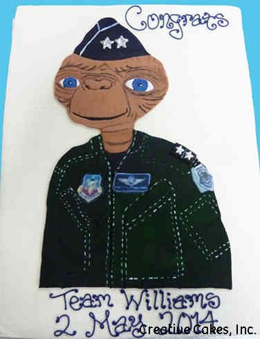 Military 13 ET Military Celebration Cake