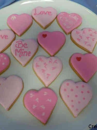 Cookies 29 Sweet Hearts Valentine's Day Cookies