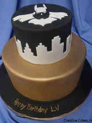 Pop 36 Elegant Batman Birthday Cake