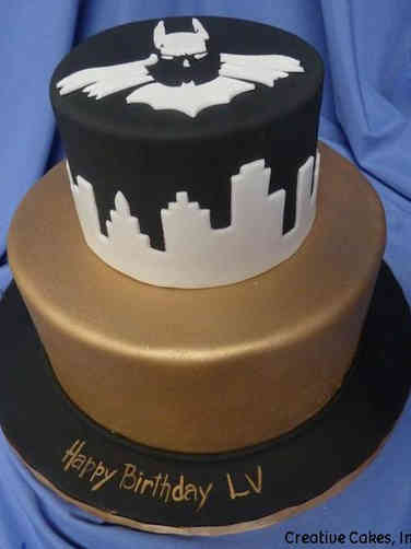 Pop 36 Elegant Batman Birthday Cake