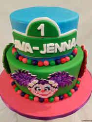 Neutral 28 Abby Kadabby First Birthday Cake