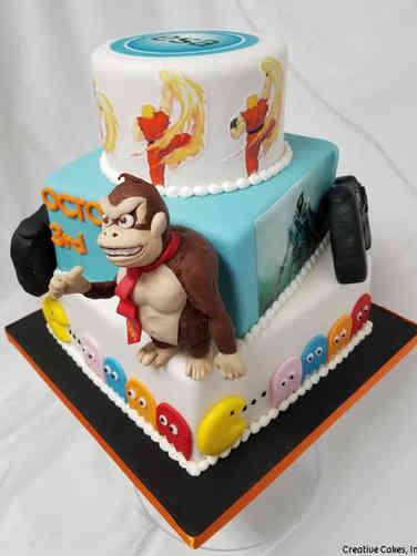 Corporate 04 Video Game Developer Celebration Cake