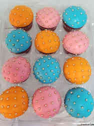Other 07 Bright Quilted Celebration Cupcakes