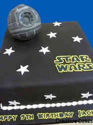 Movies 23 Star Wars Death Star Birthday Cake