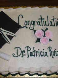 Grad School 11 Ph.D. Graduation Sheet Cake