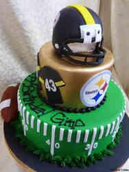 Sports 20 Pittsburgh Steelers Birthday Cake