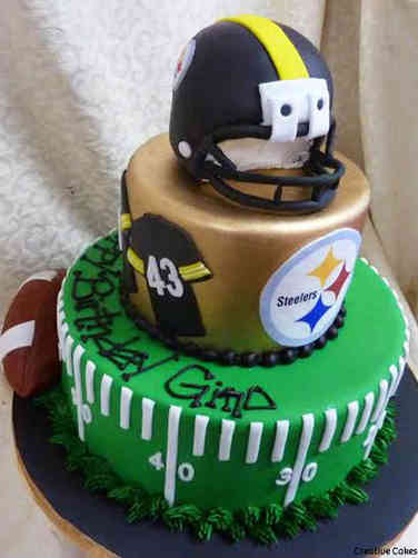 Sports 20 Pittsburgh Steelers Birthday Cake
