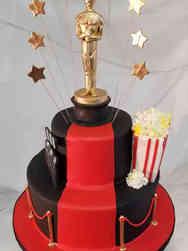 Movies 32 Oscar Red Carpet Birthday Cake