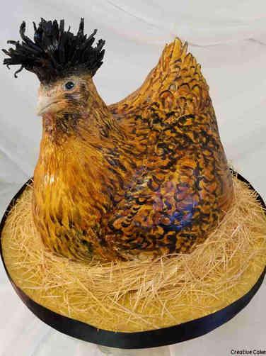 Other 24 3D Heritage Chicken Wedding Celebration Cake