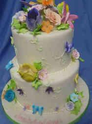 Princesses 28 Fairy Tale Garden Birthday Cake