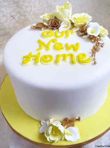 Other 16 New Home Housewarming Celebration Cake