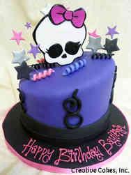 TV 22 Monster High Birthday Cake