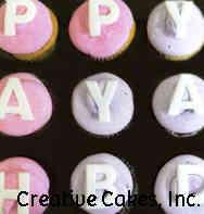 Kids 19 Happy BDay Birthday Cupcakes