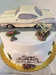 Hobbies 53 Classic Car Birthday Cake