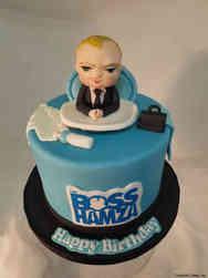 Movies 30 Boss Baby Birthday Cake