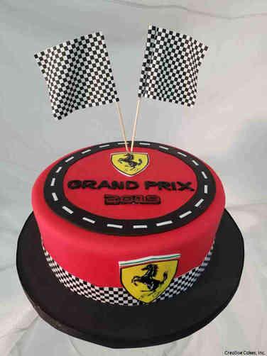 Corporate 24 Racing Celebration Cake