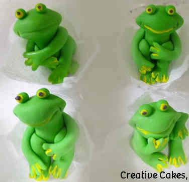 Other 11 Adorable Frogs Celebration Cupcakes