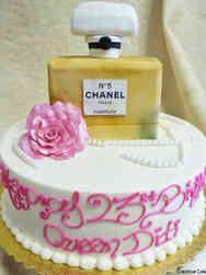 Fashion 05 Chanel No. 5 Birthday Cake