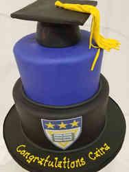 College 03 Catholic University College Graduation Cake