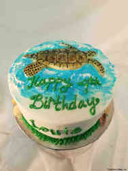 Animals 36 Sea Turtle Birthday Cake