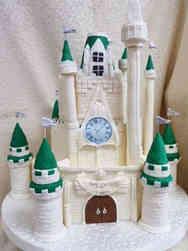 Princesses 01 Fairy Tale Castle Birthday Cake