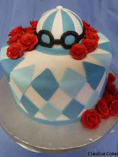 Other 12 Kentucky Derby Horse Race Celebration Cake