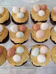 Other 33 Chicken Nest and Eggs Cucpcakes