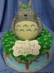 Movies 28 My Neighbor Totoro Birthday Cake