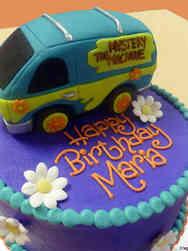 TV 19 Scooby Doo Mystery Machine Birthday Cake