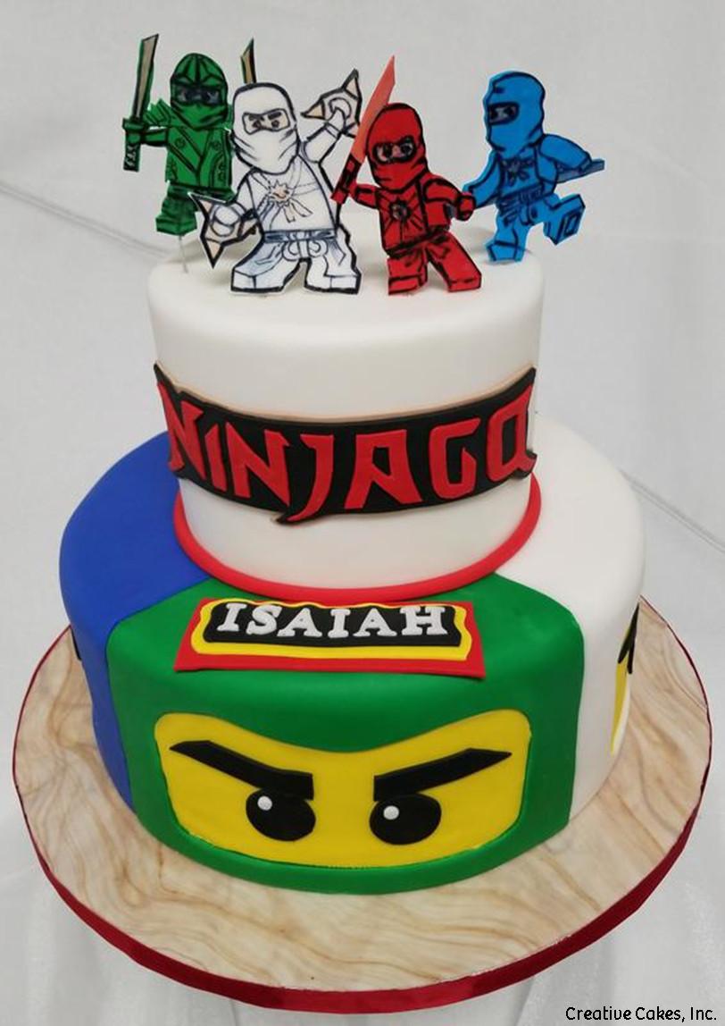 TV 06 Lego Ninjago Birthday Cake