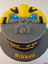 Movies 38 Transformers Bumblebee Birthday Cake