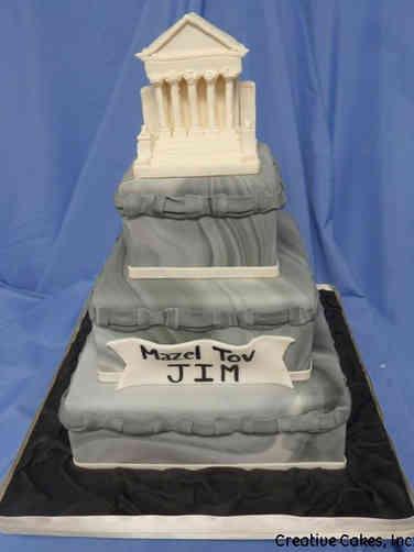 Professional 16 Supreme Court Celebration Cake