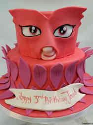 Superheroes 16 PJ Masks Owlette Birthday Cake