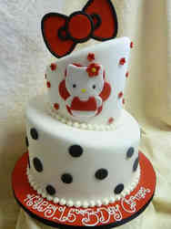 TV 17 Hello Kitty Birthday Cake