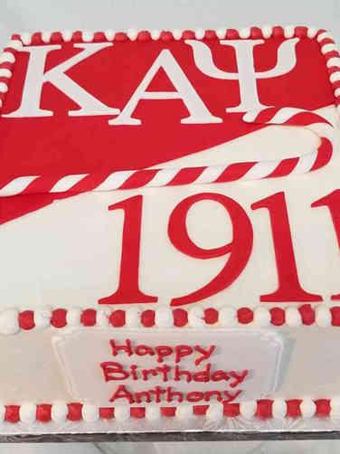Other 06 Fraternity Celebration Cake