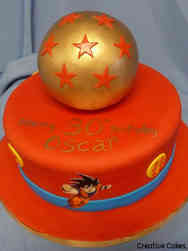 Pop 33 Dragonball Z Birthday Cake