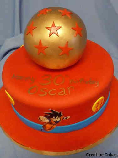 Pop 33 Dragonball Z Birthday Cake